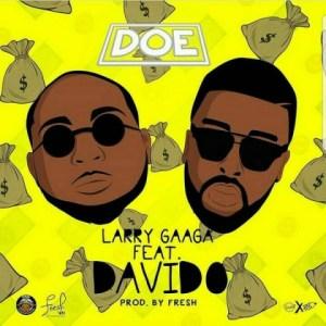 Instrumental: Larry Gaga - Doe (By Yemi Sax) ft Davido